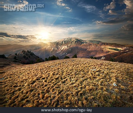 Sunrise, Rocks, Crimea
