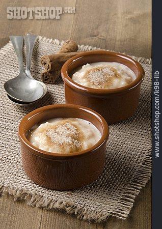 Dessert, Rice Pudding