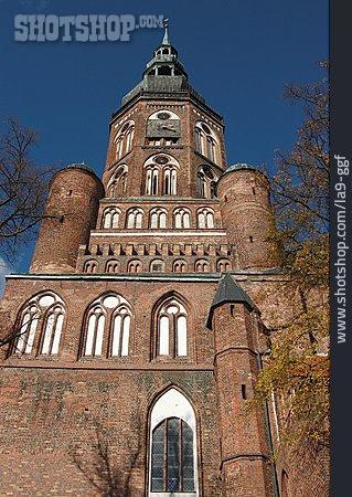Landmark, Greifswald, Cathedral St Nikolai