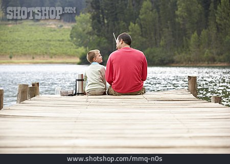 Father, Son, Fishing