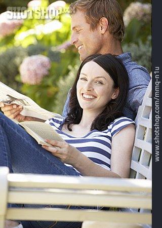 Couple, Leisure, Garden