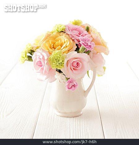 Bouquet, Flower Vase
