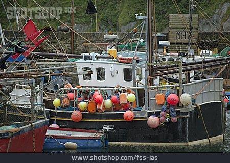 Fishing Boat, Mevagissey