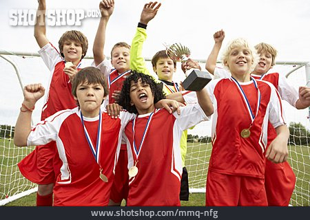 Winners, Soccer Player, Group Photo