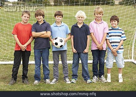 Children Group, Soccer Player