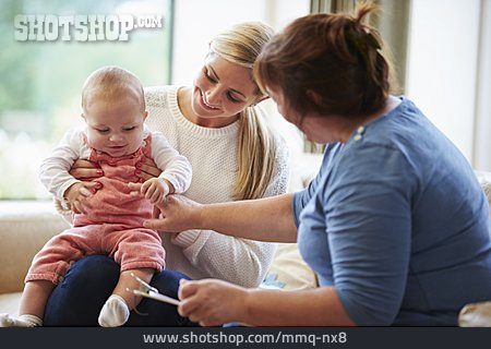 Toddler, Mother, Counseling Session