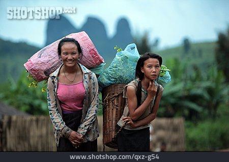 Residents, Laos, Luang Prabang
