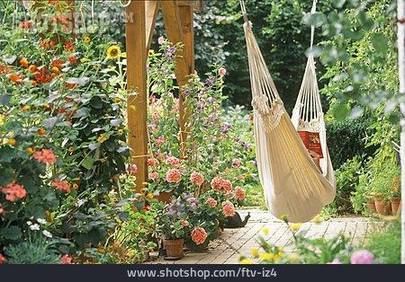 Resting, Garden, Hammock