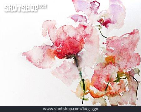 Watercolour Paints, Watercolor Painting, Rose Petals
