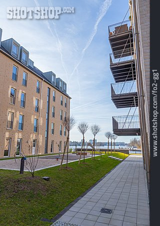 House, New Building, Multifamily, Leipzig Street