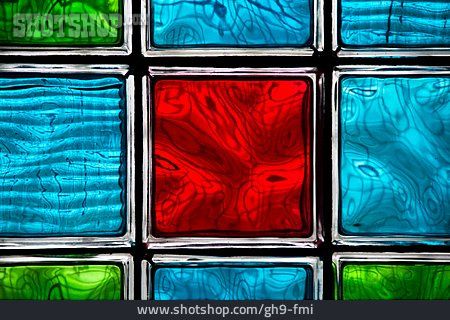 Stained Glass, Glass Brick