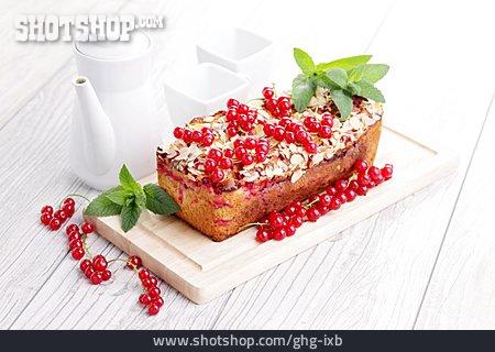 Place Setting, Fruit Cake, Currant Cake