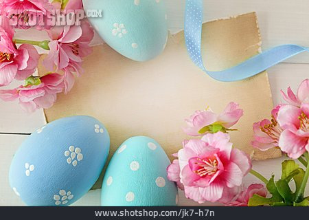 Copy Space, Easter Greeting, Easter Decoration