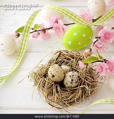Easter, Easter Nest, Easter Eggs