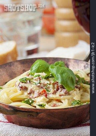Pasta Dish, Spaghetti Carbonara