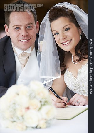 Wedding, Standesamt, Bridal Couple