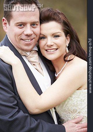 Couple, Wedding, Loving, Bridal Couple