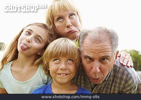 Grandson, Grimace, Grandparent, Humor
