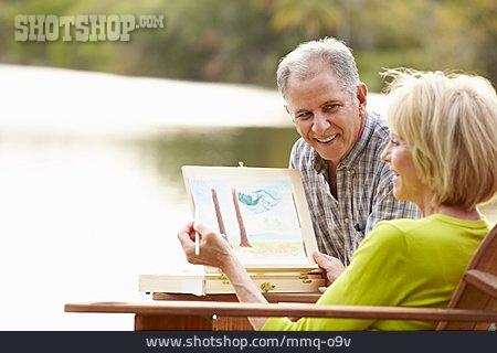Senior, Senior, Couple, Hobbies