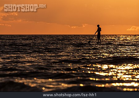 Baltic Sea, Paddling, Stand Up Paddling