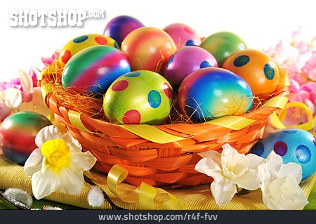 Easter Eggs, Easter Basket