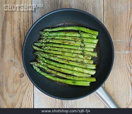 Green Asparagus, Roasted