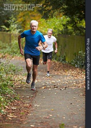 Active Seniors, Running, Runner