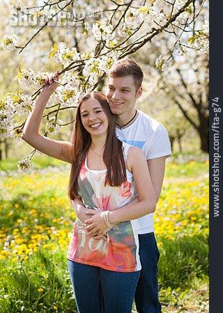 Loving, Love Couple, Spring Fever