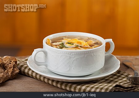 Bavarian Cuisine, Pancake Soup