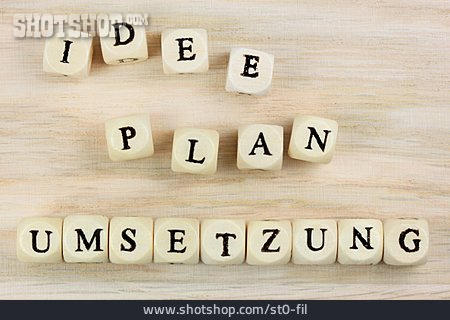 Ideas, Plan, Planning, Project, Implementation