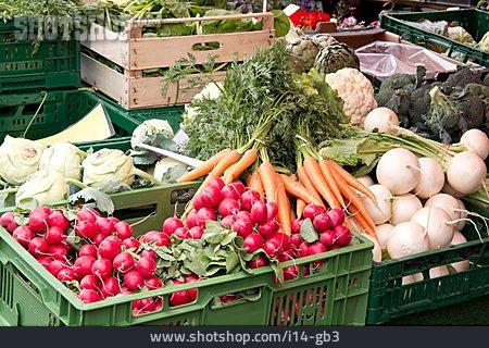 Market Stall, Vegetable Shop