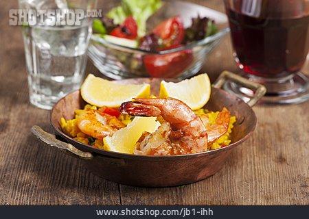 Seafood, Paella, Mediterranean Cuisine