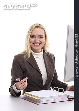 Business Woman, Office Assistant