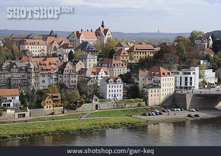 City View, Elbe River, Meißen