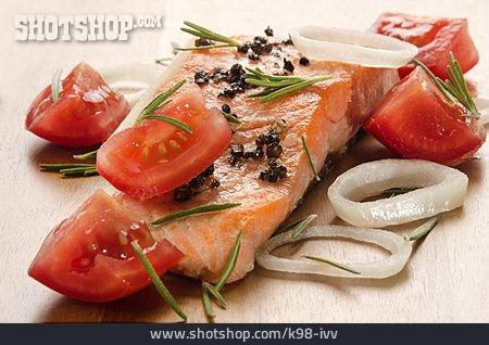 Fillet, Fish Fillet, Salmon Fillet