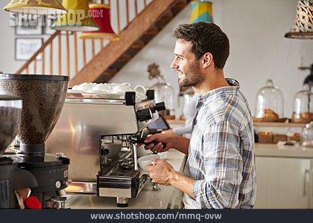 Cafe, Bistro, Coffee Making, Barista