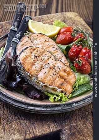 Meal, Fish Fillet, Delicatessen, Salmon Fillet