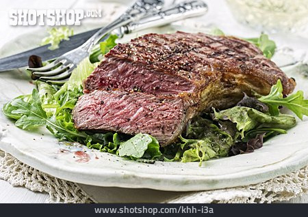 Delicacy, Beef Steak, Sirloin Steak