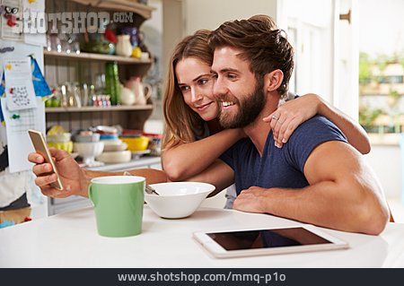 Couple, Mobile Communication, Smart Phone