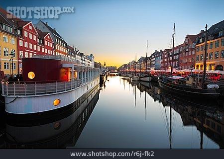 Canal, Copenhagen, Nyhavn