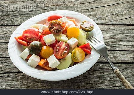 Salad, Greek Salad, Appetizer