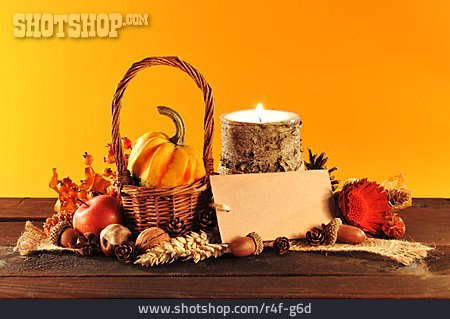 Still Life, Harvest Festival, Autumn Decoration