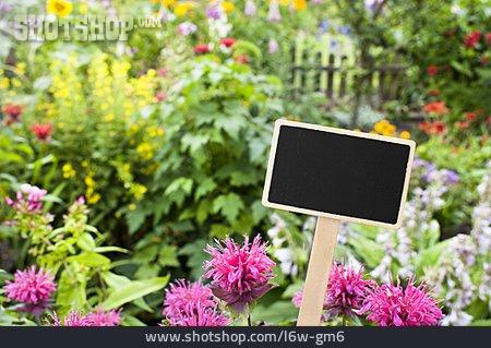 Label, Allotment, Allotment, Home Garden