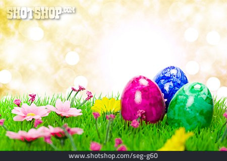 Dyed, Easter Eggs, Easter Decoration