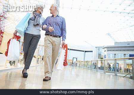 Senior, Couple, Purchase & Shopping, Shopping Mall