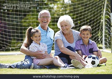 Leisure, Soccer, Grandparent