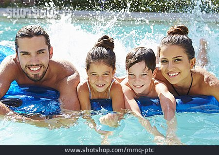 Swim, Paddle, Family, Beach Holiday