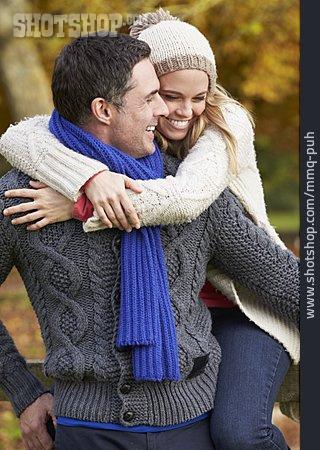 Embracing, Love Couple, Piggyback