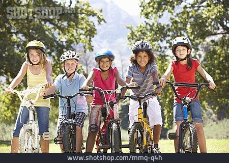 Friendship, Childhood, Bike Ride
