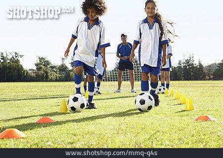 Dribbling, Sports Training
